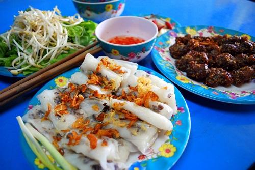 Bánh cuốn Thọ Trường ở Thọ Quang